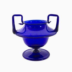 Italian Murano Glass Vase by Napoleone Martinuzzi for Venini, 1920s