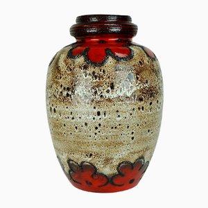 Vase de Plancher Vintage avec Verni Fat Lava de Scheurich