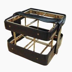 Portabotellas de Jacques Adnet, años 60