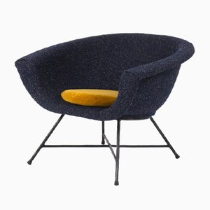 Model 58 Armchair by Genevieve Dangles & Christian Defrance for Burov, 1960s