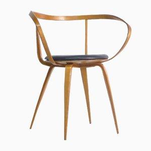 Modell 5891 Pretzel Armlehnstuhl von George Nelson für Herman Miller, 1950er