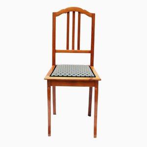 Art Deco Kirschholz Stuhl