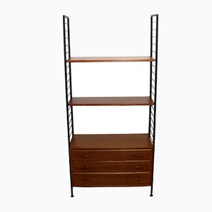 Mid-Century Ladderax Regal von Robert Heal für Staples