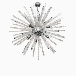 Italienische Moderne Murano Sputnik Deckenlampe