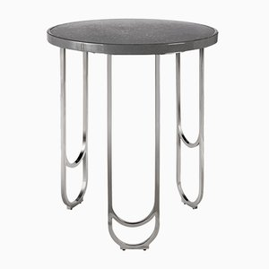Table d'Appoint SU 50 en Acier Inoxydable de 15 West Studio
