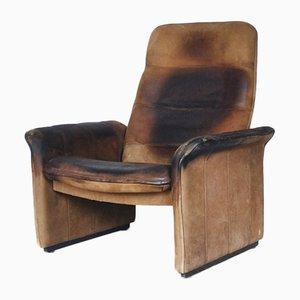 Verstellbarer DS-50 Büffelleder Sessel von De Sede, 1970er
