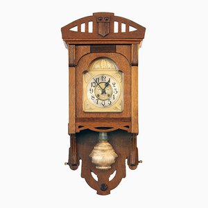 Art Nouveau Wall Clock from VFU AG