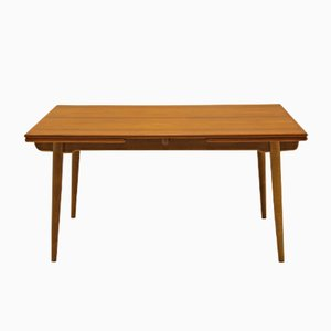 Mid-Century AT 312 Teak Dining Table by Hans J. Wegner for Andreas Tuck