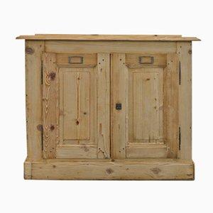 Aparador vintage de madera de abeto