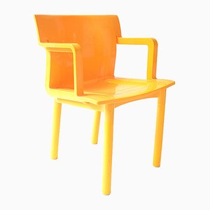 Vintage Stackable Plastic Dining Chair