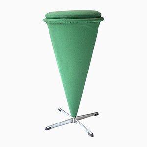 Vintage Cone Hocker von Verner Panton