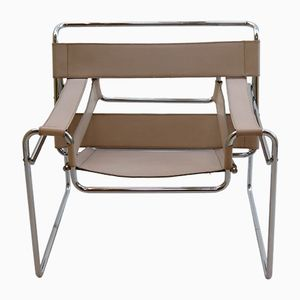 Vintage Wassily Chair by Marcel Breuer for Gavina, 1960s