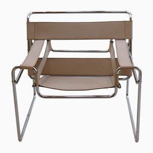 Vintage Wassily Sessel von Marcel Breuer für Gavina, 1960er