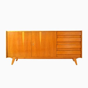 Oak Chest of Drawers by Jiri Jiroutek for Interier Praha, 1960s