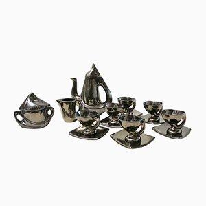 Juego de té vintage de cerámica