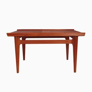 Vintage Model 535 Teak Coffee Table by Finn Juhl for France & Søn