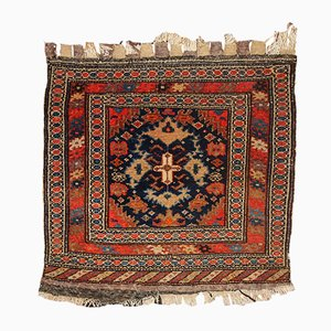 Antique Middle Eastern Bag Face Rug, 1900s