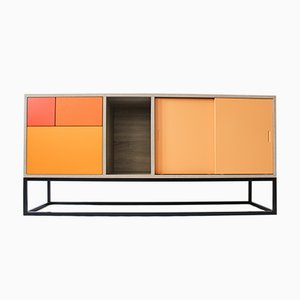 Real Sideboard in Orange von Studio Deusdara