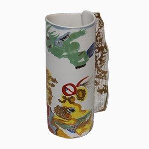 Vintage Vase von Gilbert Portanier für Rosenthal
