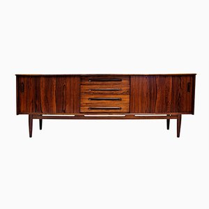 Vintage Swedish Cortina Rosewood Sideboard by Nils Jonsson for Tröeds Möbelfabrik