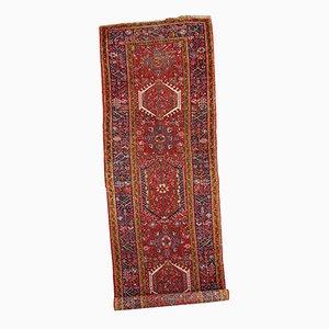 Nahöstlicher handgearbeiteter Vintage Karajeh Teppich, 1920er