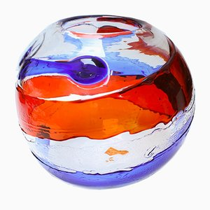 Mid-Century Murano Glass Vase from Atelier Dogi