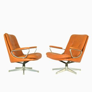 Gentilina Lounge Chairs by André Vandenbeuck for Strässle, 1960s, Set of 2