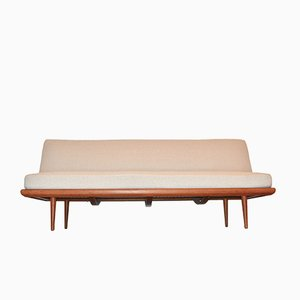 Mid-Century Danish Minerva Daybed by Peter Hvidt & Orla Mølgaard-Nielsen for France & Søn