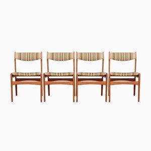 Chaises de Salon Scandinaves, Allemagne, 1960s, Set de 4