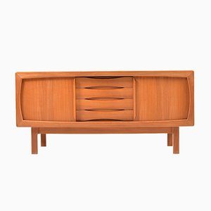 Danish Teak Sideboard by H. P. Hansen