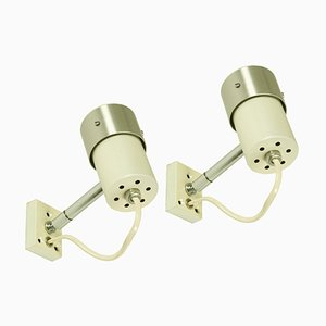 Italian B549 Wall Lights from Candle, 1960s, Set of 2