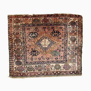 Vintage Middle Eastern Bag Face Rug, 1930s