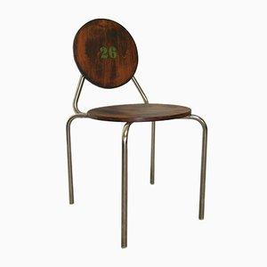 Tschechischer Vintage Stuhl aus Stahlrohr, 1930er