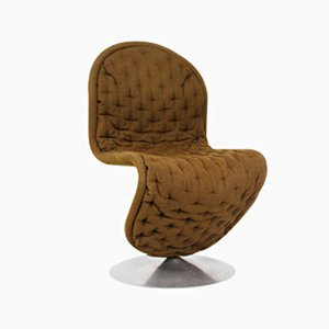 Vintage Danish 123 Chair by Verner Panton for Fritz Hansen