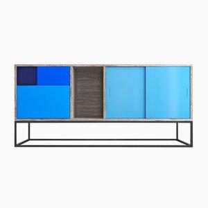 Aparador Real Sideboard azul de Studio Deusdara