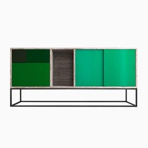 Aparador Real Sideboard verde de Studio Deusdara