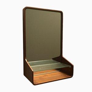 Specchio Euroika in teak di Friso Kramer per Auping, anni '50