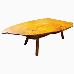 Mid-Century Log Cocktail Table, 1960s