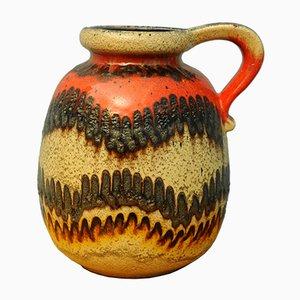 West German Pottery Vase, 1960s