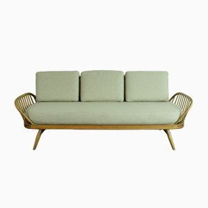 British Refurbished Vintage 355 Studio Couch/ Sofa Bed by Lucian Ercolani for Ercol, 1960s