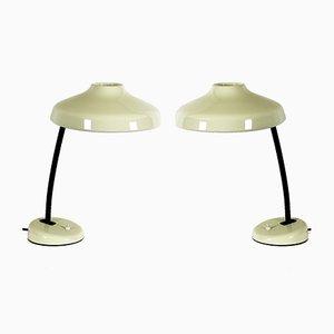 Französische Verstellbare Tischlampe, 1950er