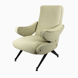 Italian Reclinable Armchair from Mobilifico Oscar Gigante, 1960s
