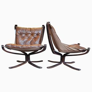 Falcon Chairs by Sigurd Ressel, 1960s, Set of 2