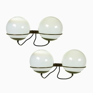 Italienische B519 Wandlampen von Candle, 1960er, 2er Set