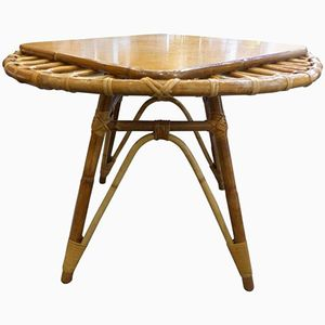 Wicker Cocktail Table, 1960s