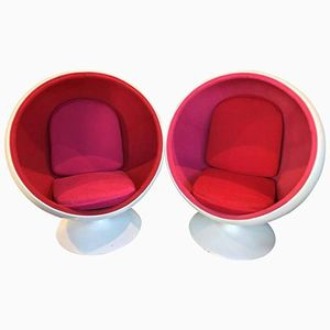 Ball Chairs by Eero Aarnio, 1960s, Set of 2
