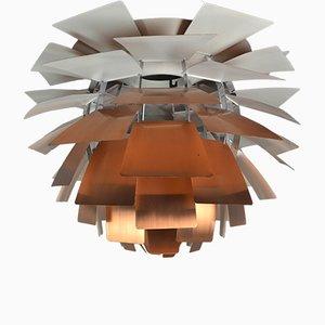 Lampada PH Artichoke Mid-Century in rame di Poul Henningsen per Louis Poulsen