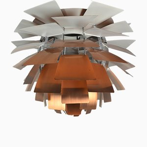 Mid-Century Copper PH Artichoke Lamp by Poul Henningsen for Louis Poulsen