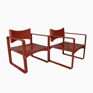 Mid-Century 271 F Armchairs by Verner Panton for Thonet, Set of 2