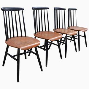 Mid-Century Chairs by Ilmari Tapiovaara, Set of 4